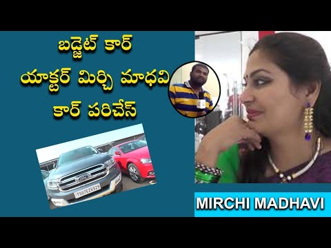 BUDGET CAR/ACTRESS MIRCHIMADHAVI CAR PURCHASE/MADHAPUR/HYDERABAD