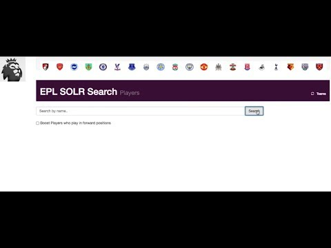 How to index data and perform fulltext search using sunspot solr