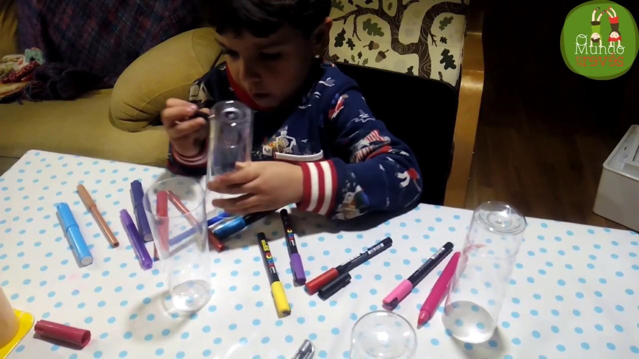 Manualidades con vasos de pl stico y rotus youtube - Manualidades con vasos de plastico ...