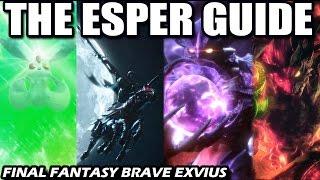 The Esper Guide - Which Esper Is The Best? (Final Fantasy Brave Exvius - FFBE)