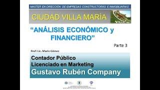 Barrio Cerrado -Ciudad Maria /Análisis Económico y Financiero