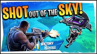 Hysteria | Fortnite | Shooting People Out of the Sky! - Duos with C9 Blind