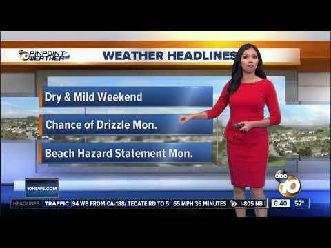Melissa's Forecast: More Sunshine on Saturday, Dec. 15, 2018