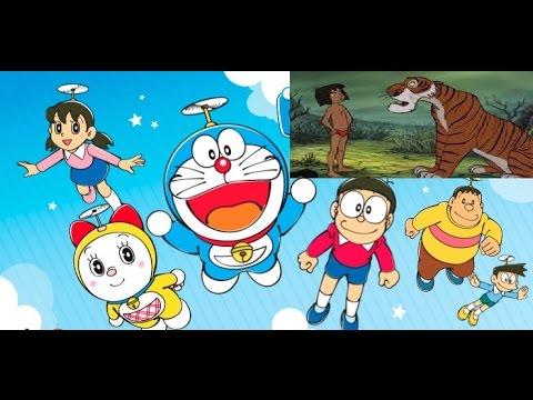 Hindi Cartoon Theme Title Song | Doraemon Jungle Book Mogli Title Song