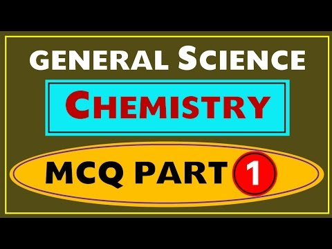 Most Important Chemistry MCQ - 1 (SSC , UPSC , PSC and Other