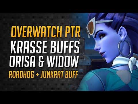 KRASSER Orisa & Widowmaker BUFF | PTR Buffs für Roadhog & Junkrat ★ Overwatch