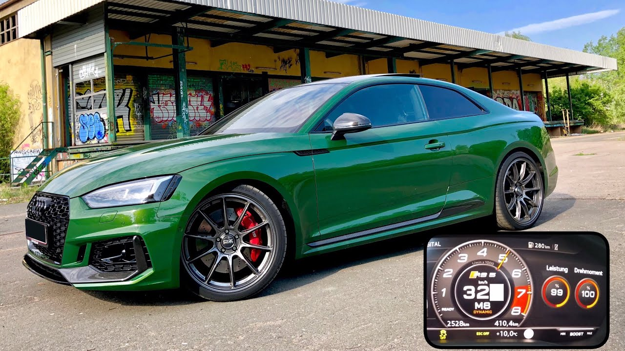 The strongest - HGP Audi RS5 B9 Coupe with 615 PS & 819 NM