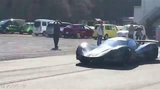アスパークのEVスーパーカー「OWL」により、時速0→100km(ゼロヒャク)の...