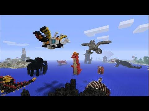 Minecraft Subscriber Godzilla World Builds!