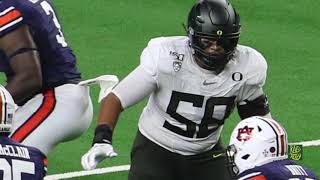 Penei Sewell OT-Oregon: 2021 NFL Draft Preview