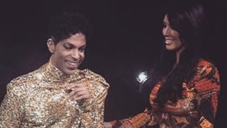 Kim Kardashian Shares Awkward Throwback From When Prince Kicked Her Off Stage