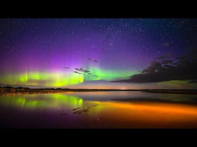 AURORA BOREALIS TIME LAPSE 2020 - Saskatchewan, Canada (Northern Lights)