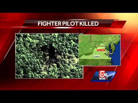 Military pilot was in Virginia F-15 crash