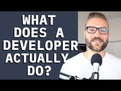 What do I ACTUALLY do as a Software Developer?