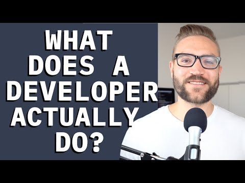 What Do I ACTUALLY Do As A Software Developer?