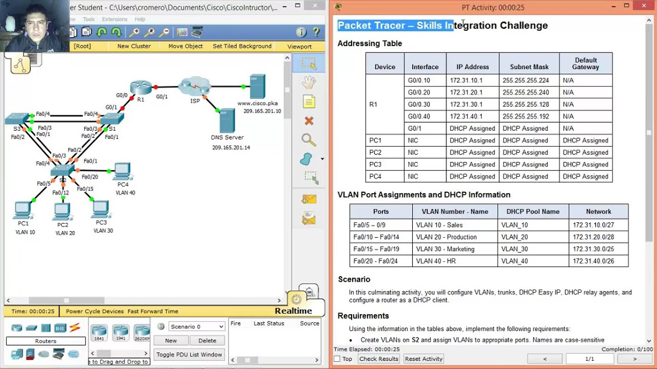 packet tracer 8.3.1.2
