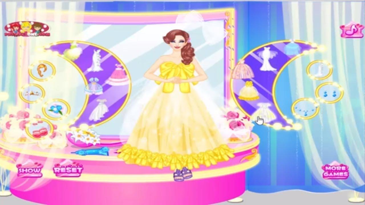 Disney Princess Games Beautiful Wedding Dress Up