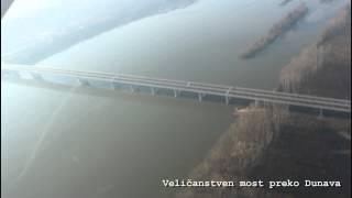 Most Zemun - Borča decembar 2014 - Pupinov most - Kineski most