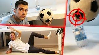 FUßBALL-CHALLENGE IM HAUS mit Luca
