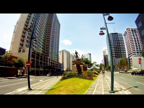 Easter Manila Walk - Taguig / Bonifacio Global City (Fort Bonifacio) [GoPro HD]