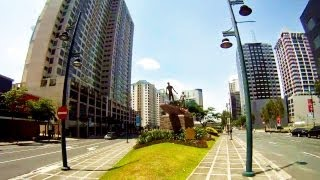 Easter Manila Walk - Taguig / Bonifacio Global City (Fort Bonifacio) [GoPro HD]