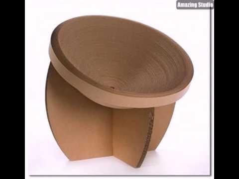 Kreativ gestalteter stuhl karton pappe pappe m bel sofa - Stuhl aus pappe ...