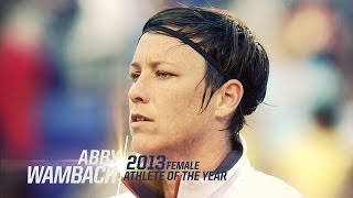 Abby Wambach: 2013 Female Athlete of the Year