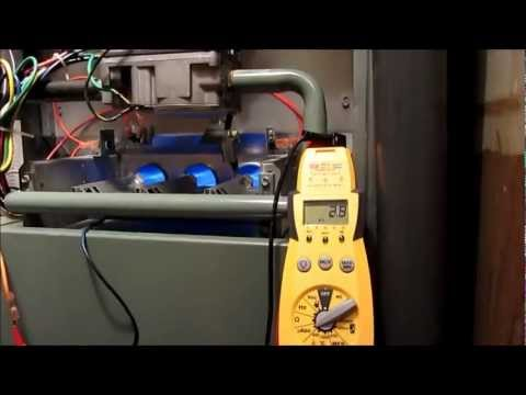 HVAC Service Rheem RGPH Electrical Testing Hot Surface
