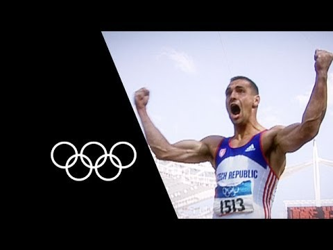 Roman Šebrle Sets Incredible Decathlon Olympic Record | Olym