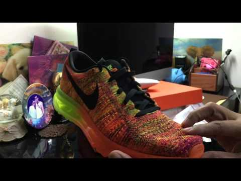 Nike Air Max FlyKnit Total Orange