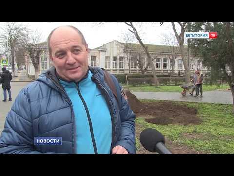 Новые деревья украсили ул. Бартенева.