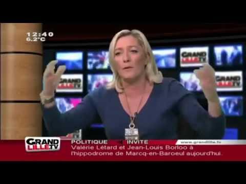Marine Le Pen Remontée contre un Groupe Facebook (halal)