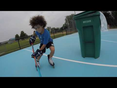WristyTwisty Vs  JP.HKY - Roller Hockey At Shoshone Park ODR In Buffalo, NY