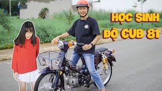 Nữ Học Sinh Bỏ Hơn 70 Triệu Độ Honda Cub 81 Cực Hiếm