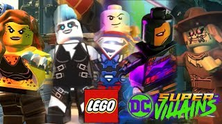 LEGO DC Villains ALL Characters Confirmed so far - Trailer, E3 Gameplay, & Screenshots Analysis