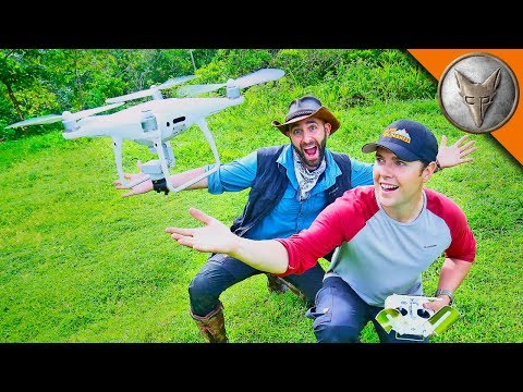 Drones in the Jungle!