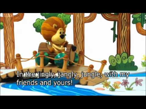 Raa Raa The Noisy Lion Theme Tune With SUBS(sing-a-long)