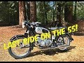 1955 Bmw R50 Last Ride! She's Sold & Going To A New Home On The East Coast