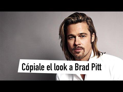 Copiale el look a Brad Pitt
