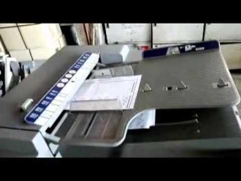 เครื่องตรวจข้อสอบ DataOMR โปรแกรมตรวจข้อสอบ Konica Minolta BH350