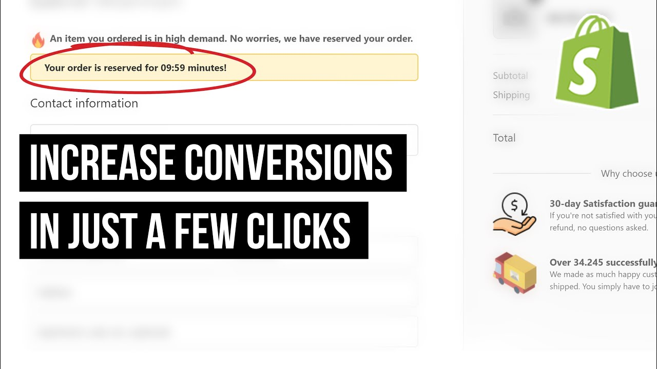 Shopify Checkout Page Hack (Increase Your Conversion Rate in 2 Minutes)