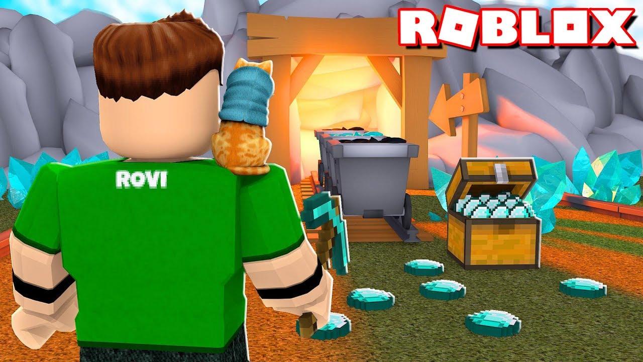 Diamantes Infinitos En Roblox Roblox Miner Simulator Youtube