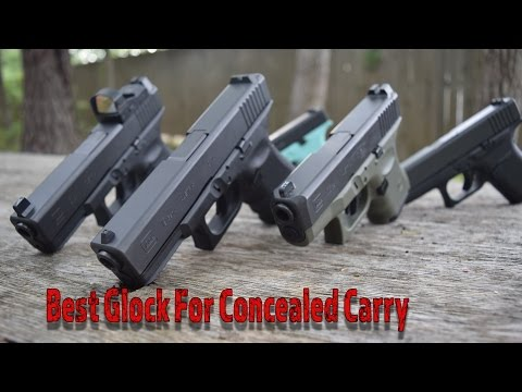 Best Glock For Concealed Carry!