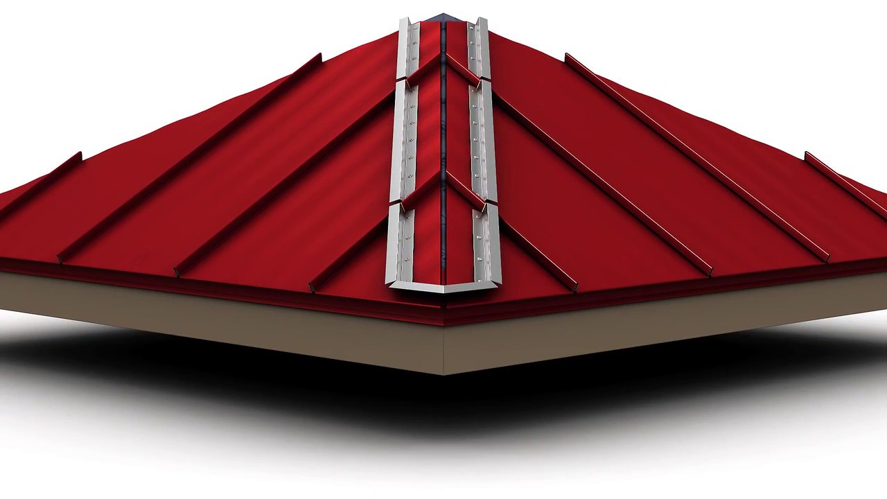 How To Install Standing Seam Metal Roofing Hip Cap Youtube