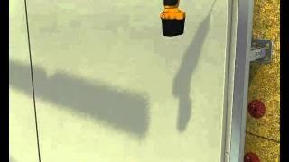 Металлокассеты (видимое крепление) на системе ОЛМА.avi(Монтаж металлокассет с видимым креплением на фасадной системе ОЛМА., 2012-01-26T13:23:31.000Z)