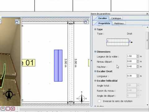 3D Home Design by Livecad : Create a split level