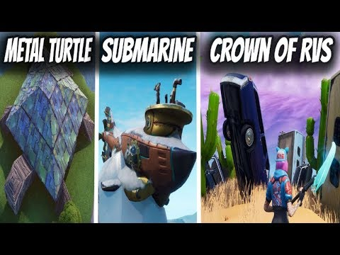 Dance On Top Of Challenge Crown Of Rv S Metal Turtle And