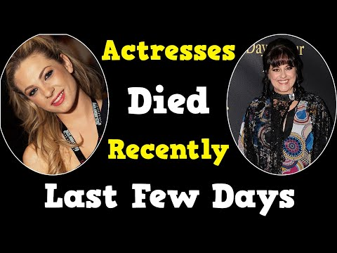 Download 20 Famous Actresses Who Died Recently in Last Few Days