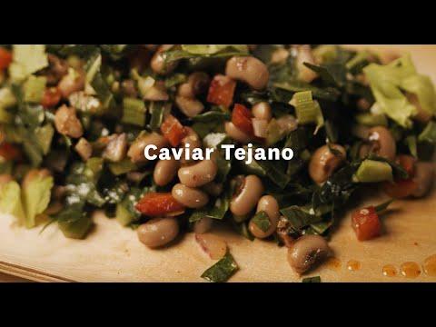 Thumbnail to launch Texas Caviar Spanish video