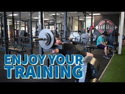 Enjoy Your Training